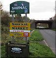 SJ7509 : Northern boundary of Shifnal by Jaggery