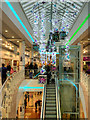 SJ8097 : Lowry Outlet Mall, Christmas Decorations 2015 by David Dixon