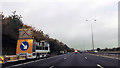 SO8646 : Maintenance vehicles on M5 near Kerswell Green by John Firth