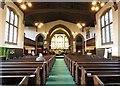 SJ9495 : Inside Flowery Field Church by Gerald England