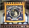 SJ9495 : Flowery Field Sunday School Banner by Gerald England