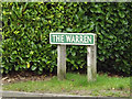 TG2115 : The Warren sign by Adrian Cable