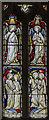 SK6754 : Stained glass window, St Michael's church, Halam by Julian P Guffogg