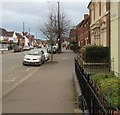 SJ7407 : Broadway pavement, Shifnal by Jaggery