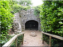 TQ1773 : Marble Hill Park Grotto by Christian K