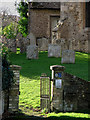 TL4058 : Coton: churchyard gate by John Sutton
