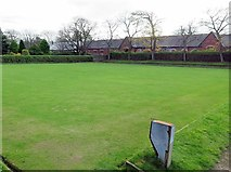 NZ3472 : Bowling Green, Souter Park by Andrew Curtis