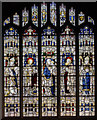 SK7472 : East window, St John the Baptist church, East Markham by Julian P Guffogg