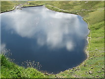 NY2807 : Stickle Tarn from Jack's Rake by Peter S