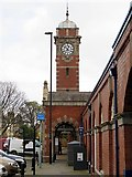 NZ3571 : Whitley Bay Metro Station by Andrew Curtis