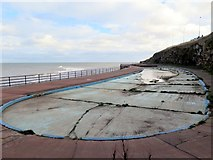 NZ3672 : Paddling Pool, Southern Promenade, Whitley Bay by Andrew Curtis