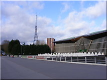 TQ3470 : National Sports Centre View by Gordon Griffiths