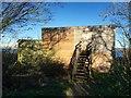SJ8609 : Belvide Reservoir: Gazebo hide by Jonathan Hutchins