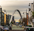SJ8396 : Hulme Arch Bridge by Peter McDermott