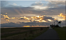 SD3727 : The late afternoon sky at Lytham by Ian Greig
