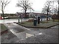 TM1179 : Park Road Car Park exit by Adrian Cable