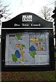 TM1179 : Diss Town Map at Diss Park by Geographer