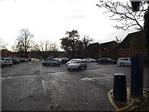 TM1179 : Park Road Car Park, Diss by Adrian Cable