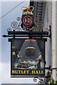 TQ2450 : Nutley Hall pub sign by Ian Capper