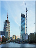 TQ3282 : Construction of 230 City Road, EC1 by Robin Webster