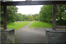 NY3704 : Ambleside Cemetery by Nigel Mykura