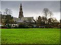 NY3704 : Ambleside Parish Centre and St Mary's Church by David Dixon