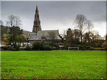 NY3704 : Ambleside Parish Centre and St Mary's Church by David Dixon