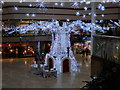 TL1998 : Christmas lights in the Queensgate Shopping Centre, Peterborough by Paul Bryan