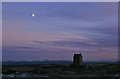 NT6334 : Smailholm Tower at dusk by Walter Baxter