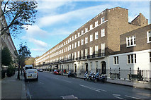 TQ3081 : Bedford Place, WC1, east side by Robin Webster