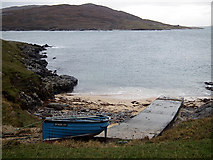 NA9812 : The slipway at Port a' Tuath by John Lucas