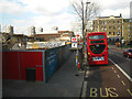 TQ3276 : Development site by bus stop E, Camberwell Road, Camberwell Green, London by Robin Stott