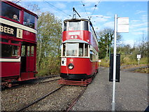 SK3455 : Crich Tramway Museum:  Glory Mine Terminus by Dr Neil Clifton