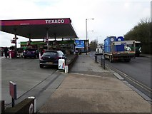TQ2282 : Texaco filling station, A404, Harlesden by David Smith