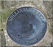 NS2876 : Greenock Town Trail - William Street by Thomas Nugent