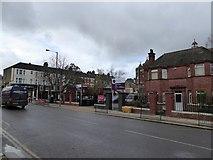 TQ2382 : Chamberlayne Road/Mortimer Road crossroads by David Smith