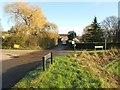 TL2116 : Welwyn: Crossroads at Pulmer Water by Nigel Cox