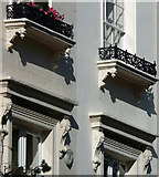 TQ2878 : Detail of 24-32 Chester Square by Stephen Richards