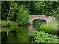 SO8480 : Austcliff Bridge south of Caunsall, Staffordshire by Roger  Kidd