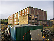 NS7792 : Heyford Mill, Engine House by Richard Dorrell