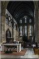 TA2609 : Crossing and Chancel, St James' church by Julian P Guffogg