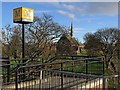NZ3464 : Church of St Simon near Simonside Metro Station by Andrew Curtis