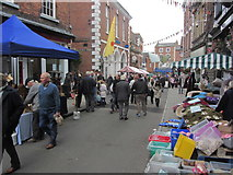 SJ5441 : Whitchurch (High St) - Food & Drink Fayre by Colin Park