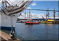 J3475 : Ships, Pollock Dock, Belfast by Rossographer
