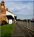 SJ2207 : Former railway side of the Old Station, Welshpool by Jaggery