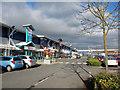 SO8657 : Blackpole Retail Park by Richard Dorrell