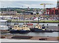 J3475 : Tug Boats, Tall Ships Festival, Belfast by Rossographer