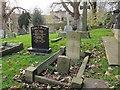 SD7336 : Whalley parish church: war grave by Stephen Craven
