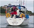 J5082 : Yacht 'Rapture' at Bangor by Rossographer