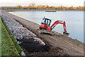 SP9113 : Repairing Startops Reservoir (7) by Chris Reynolds